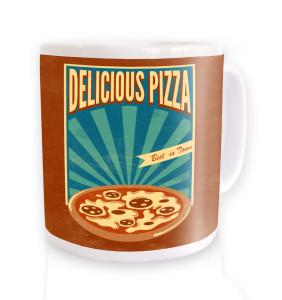 delicious pizza mugs