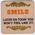 Smile Beer Mat